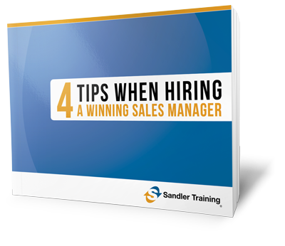 Offer, Hiring a great sales manager
